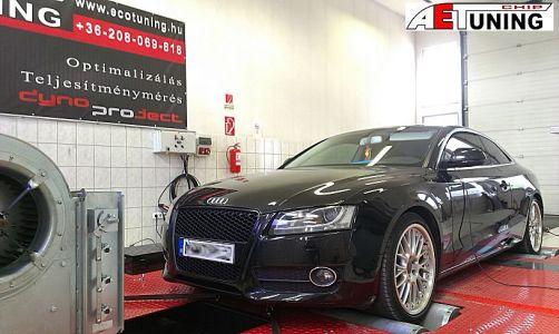 Audi A5 Chiptuning Dyno Tat