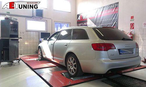 Audi A6 3-0tdi 224le Aet Chip Dyno