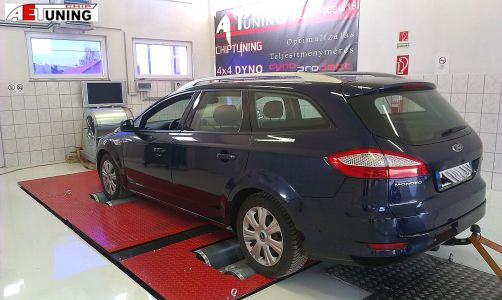Ford Mondeo 2-0tdci Dyno