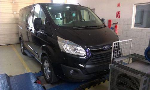 Ford Tourneo Custom Chiptuning
