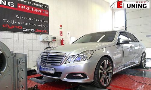 Mercedes E350 Tuning Dynoproject