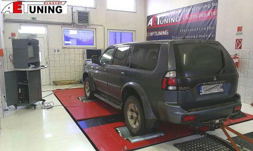 Mitsubishi Pajero Sport 2-5td Dyno Chip Tuning