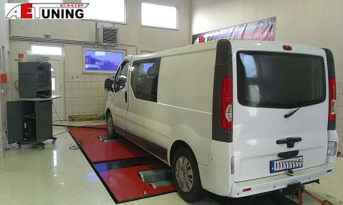 Opel Vivaro Csiptuning Dynoproject