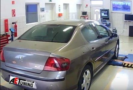 Peugeot P407 2-0hdi Chiptuning