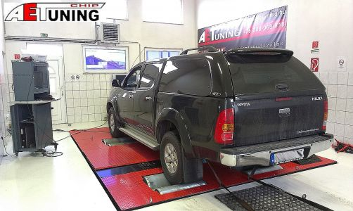 Toyota Hilux Dynoproject Chip Tuning