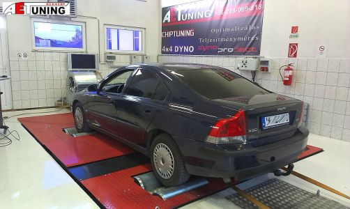 Volvo S60 Chiptuning Dyno