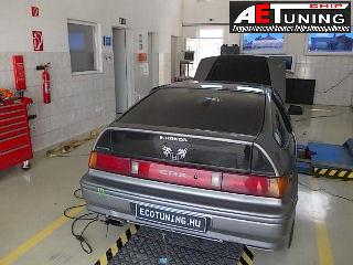 Honda chiptuning teljesítménymérés