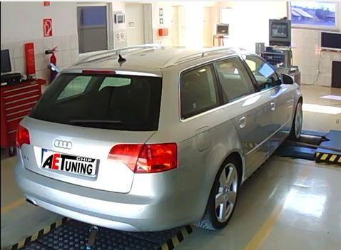 Audi A4 1.9TDI 115LE Chiptuning