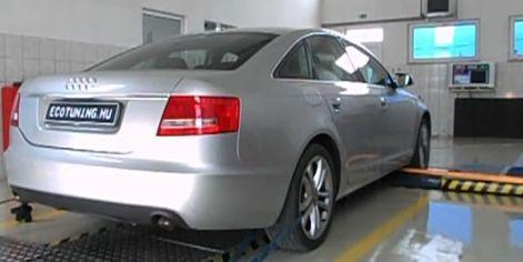 Audi A6 2.7TDI 180LE Chiptuning Teljesítménymérés