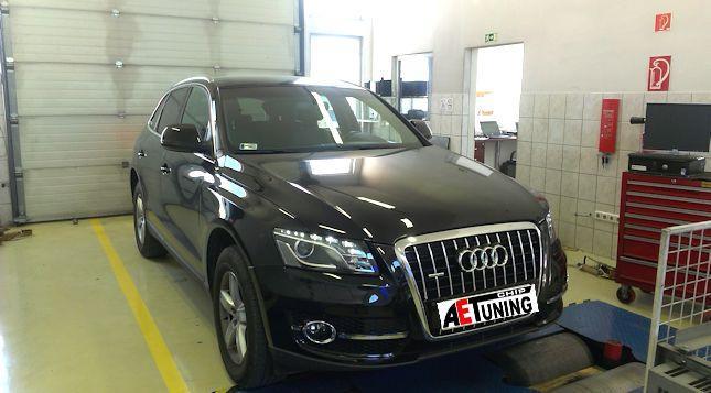 Audi Q5 3.0TDI 140LE Chiptuning