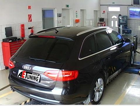 Audi A4 2.0TDI CR 120LE Chiptuning DYNO OPTimalizálás