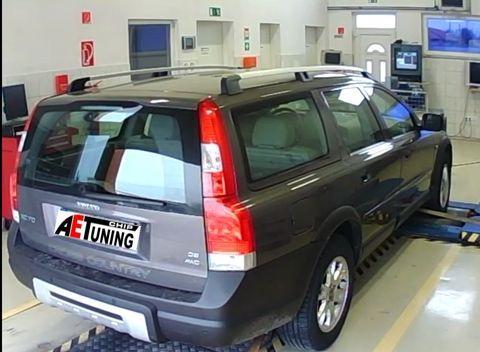 Volvo XC70 D5 185LE AET Chiptuning OPTimalizálás DYNO fékpadon