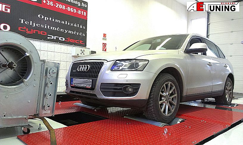 Audi Q5 Chiptuning referencia