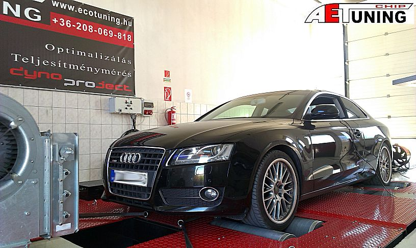 Audi A5 1.8 TFSI 170LE Chip tuning optimalizálás