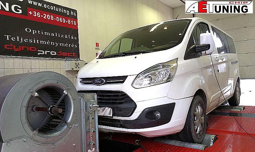 Ford Transit Tourneo Custom 2.2TDCI 125LE Optimalizálás