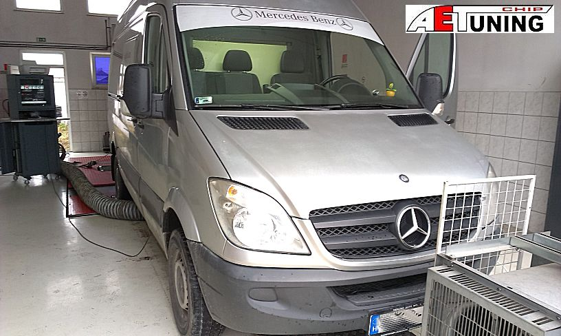 Mercedes Sprinter 318CDI 184LE Chiptuning