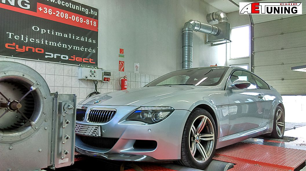 BMW M6 507HP CHIP