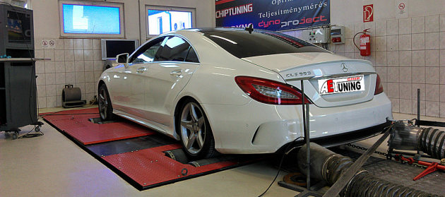 Mercedes CLS550 Bi-Turbo 408LE Chiptuning