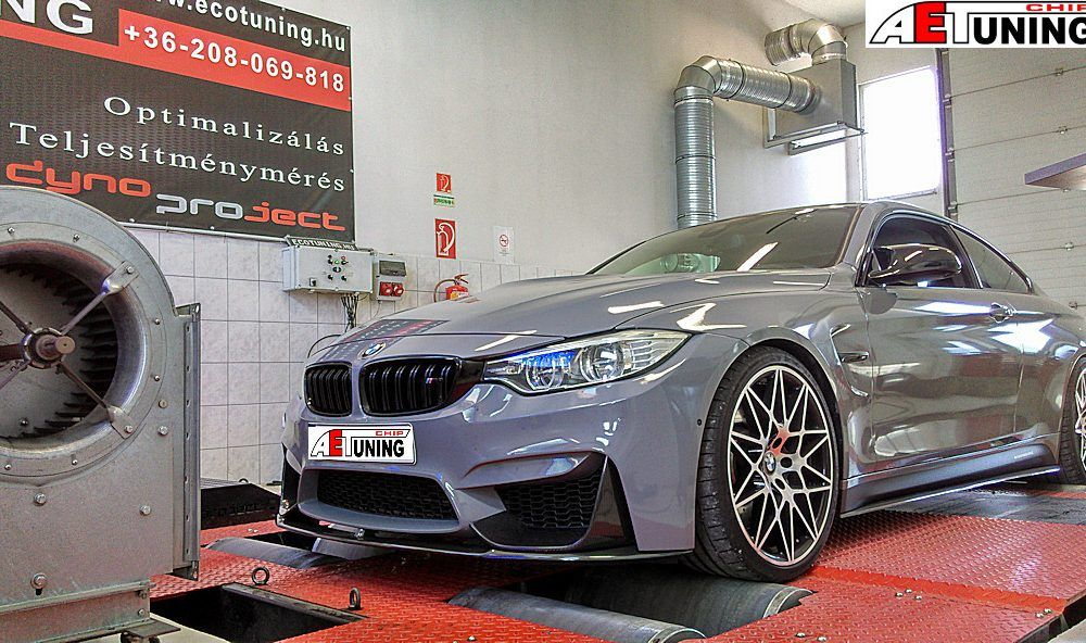 BMW M4 F82 3.0T 450LE Competition Chiptuning