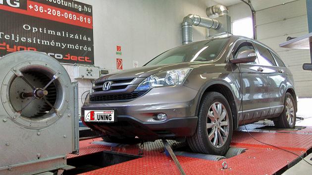 Honda CR-V 2.2 I-DTEC Chiptuning motoroptimalizálás csiptuning teljesítménymérés