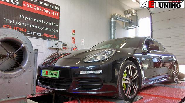 Porsche Panamera S e-Hybrid 3.0T 333LE Chiptuning