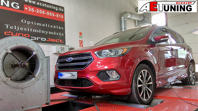 ✅ Ford Kuga 2.0TDCI Chiptuning Optimalizálása 4❌4 DYNO fékpadon
