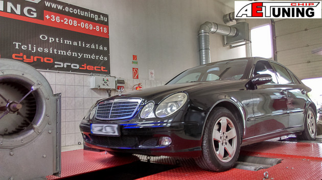 Mercedes E280 CDI Chiptuning