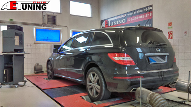 Mercedes chiptuning tuningbox