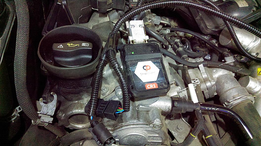 Mercedes tuningbox teszt