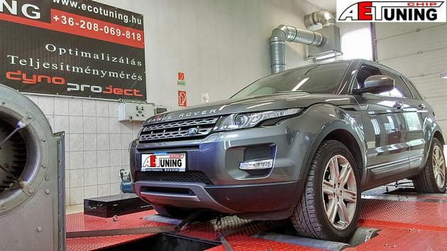 Range Rover Evoque 2.2 TD4 Chiptuning