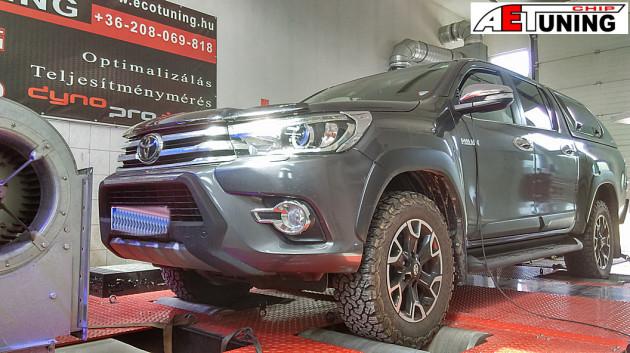 Toyota Hilux 2.4 D4D 150LE Chiptuning