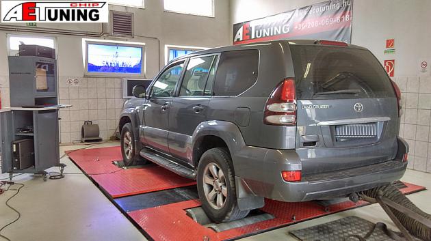 Toyota Land Cruiser 3.0D4D Teljesítménymérés