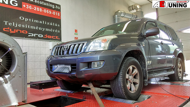 Toyota Land Cruiser 3.0D4D Chiptuning