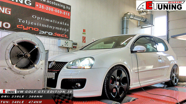 VW Golf GTI 2.0TFSI EDITION 30 Chiptuning