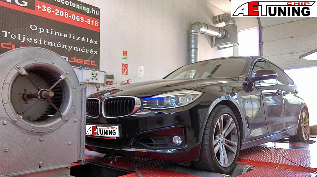 BMW 320i GT Chiptuning