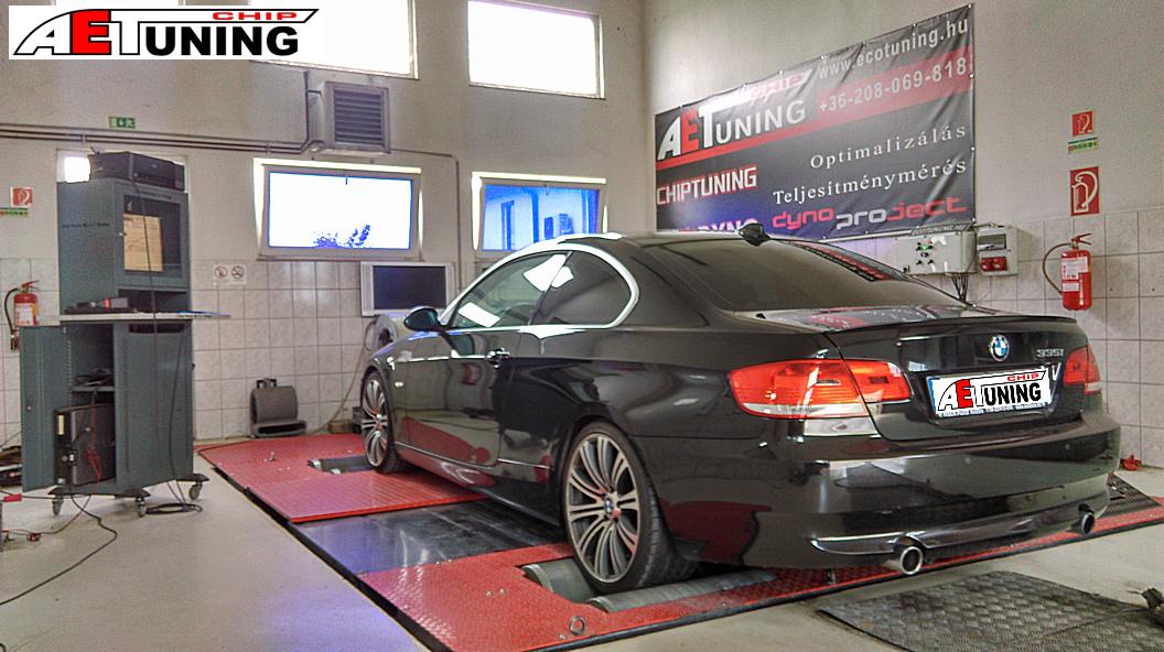 BMW 335i Teljesítménymérés
