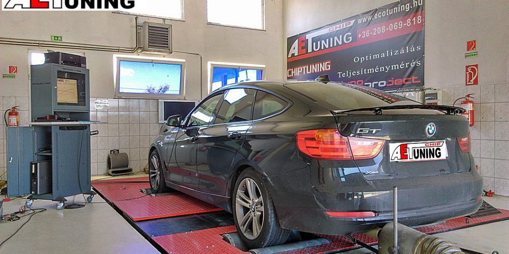 BMW 320i GT Teljesítménymérés