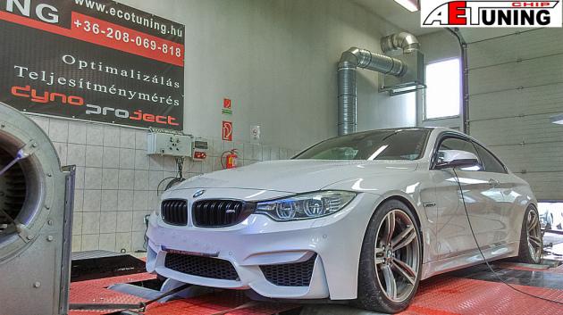 BMW M4 Chiptuning 431HP DYNO Teljesítménymérés Tuning