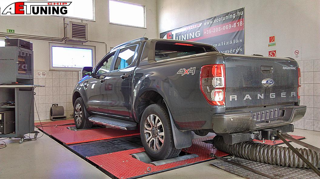 Ford Ranger 3.2TDCI Teljesítménymérés