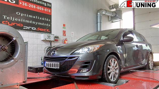 Mazda 3 2.2 MZR-CD Chiptuning