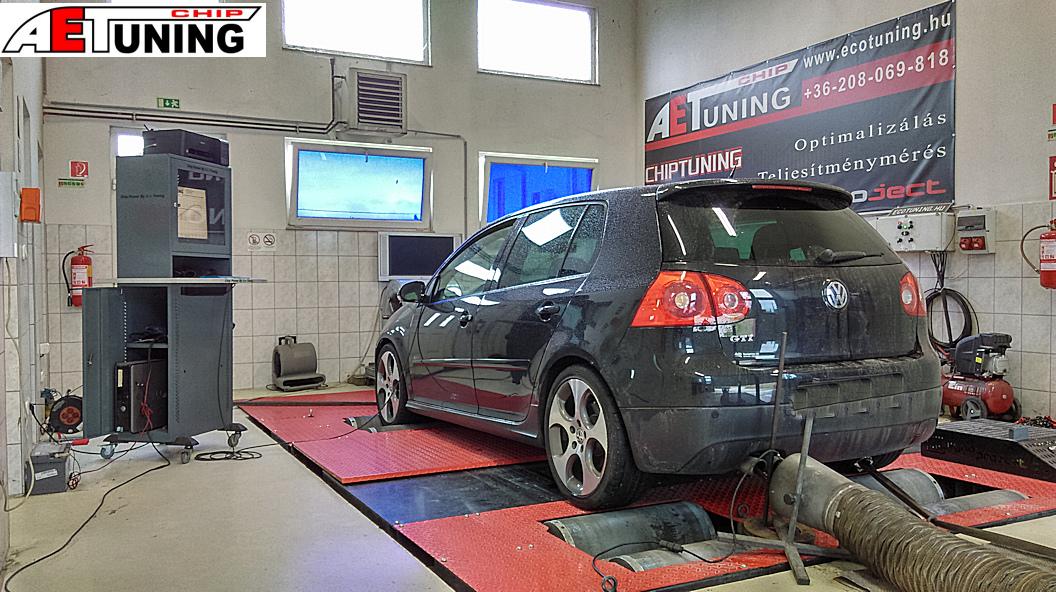 VW Golf GTI Teljesítménymérés