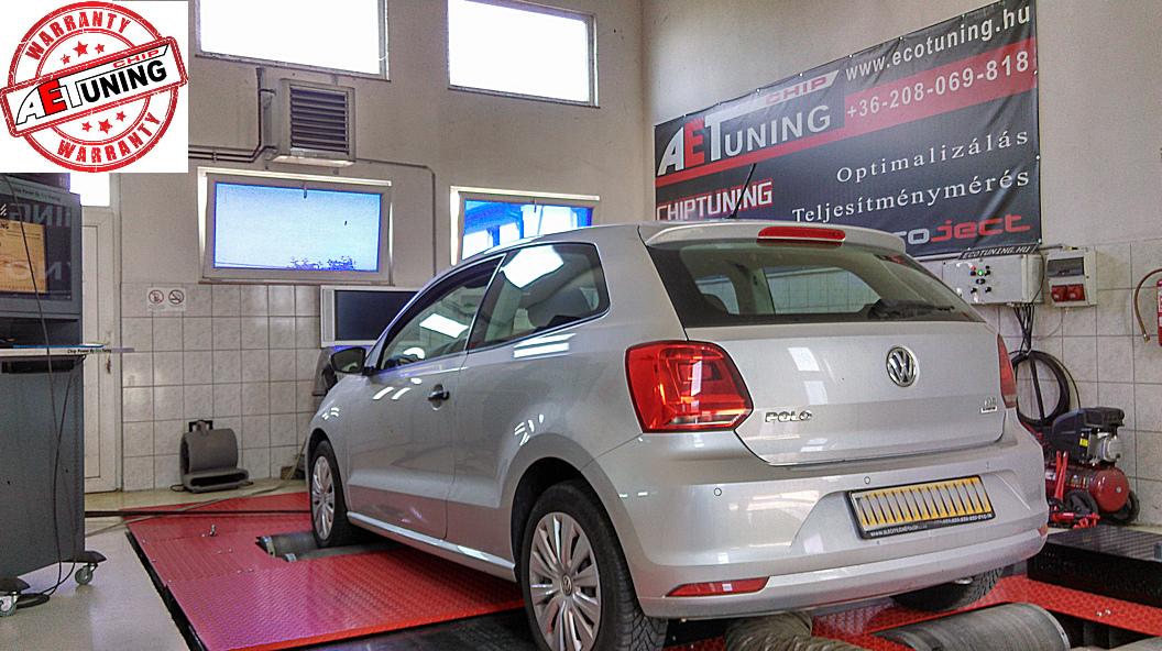 Volkswagen Polo 1.4TDI Teljesítménymérés