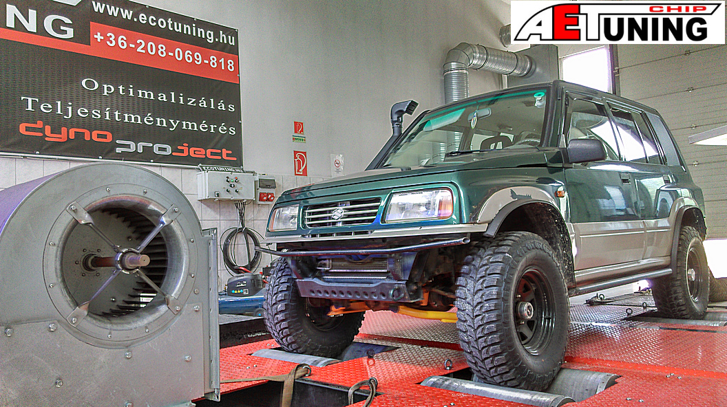 Suzuki Vitara Off Road Chiptuning