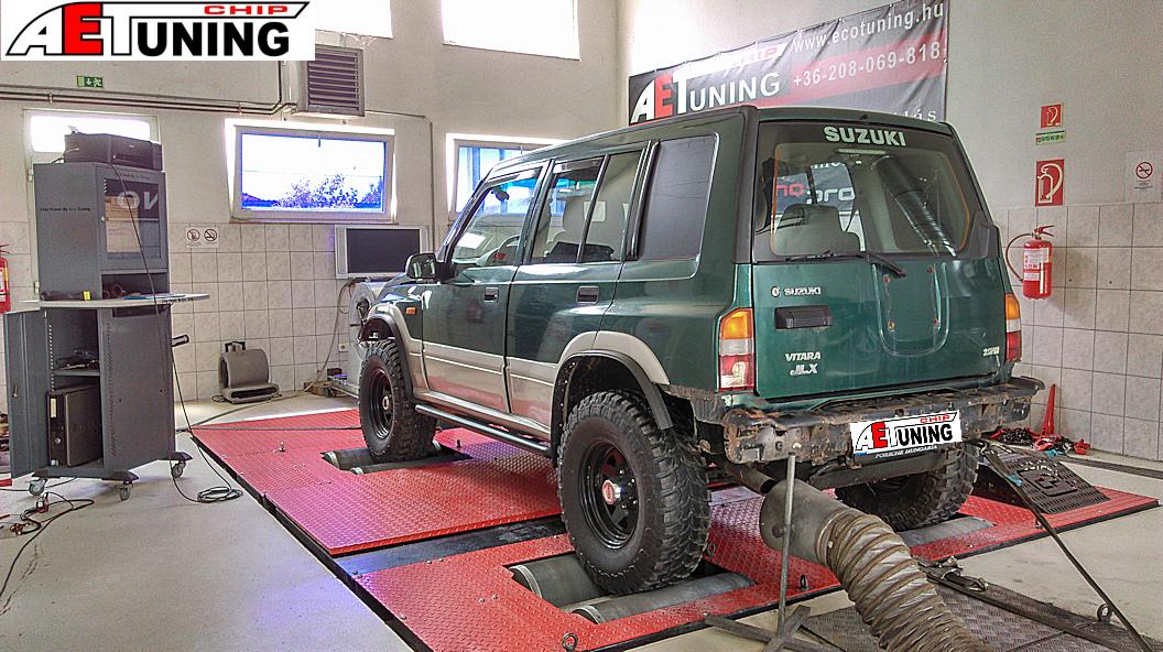Suzuki Vitara Off Road Teljesítménymérés