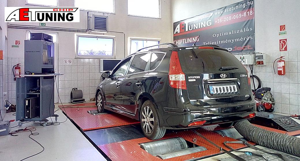 Hyundai I30 1.6CRDi csiptuning