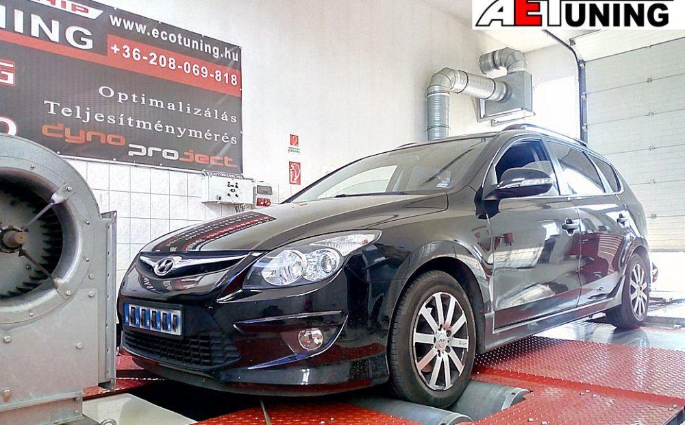 Hyundai I30 1.6CRDi Chiptuning
