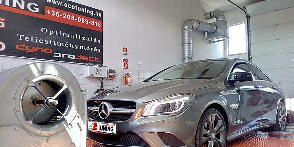 Mercedes CLA 200CDI Chiptuning