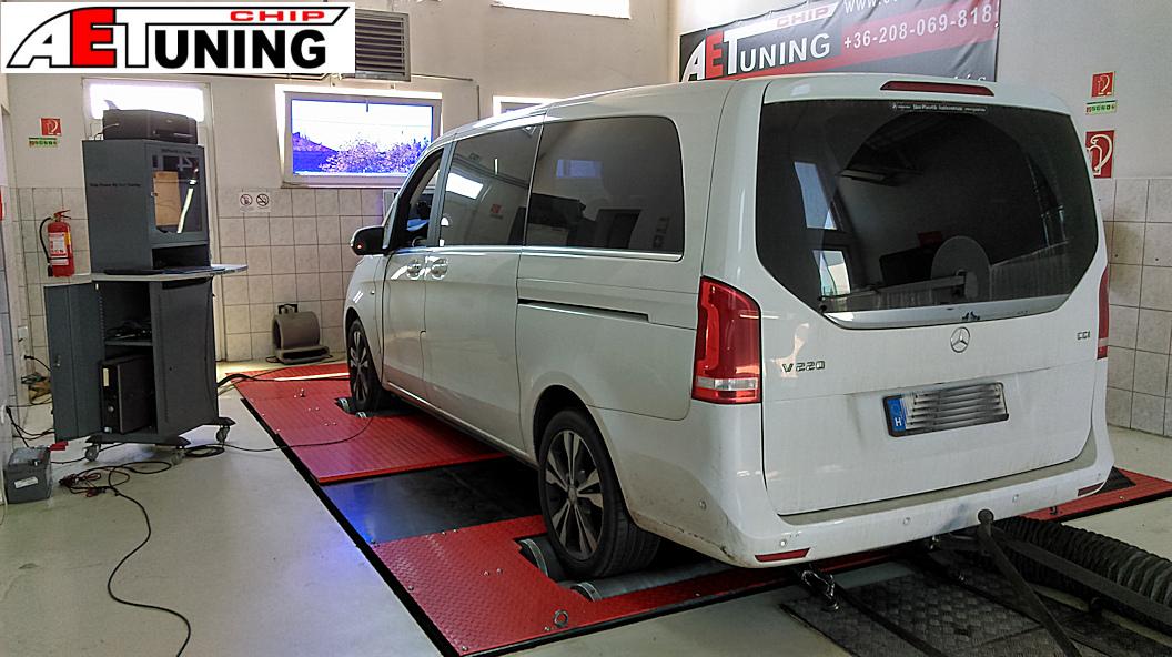 Mercedes V-Klass Chiptuning