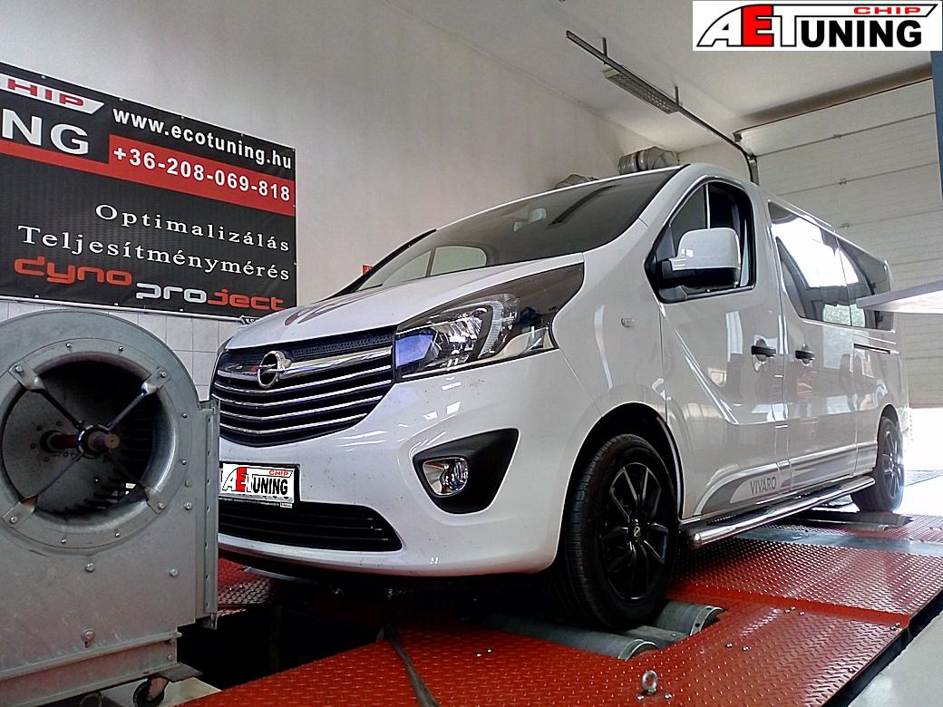 Opel Vivaro 1.6CDTI Chiptuning