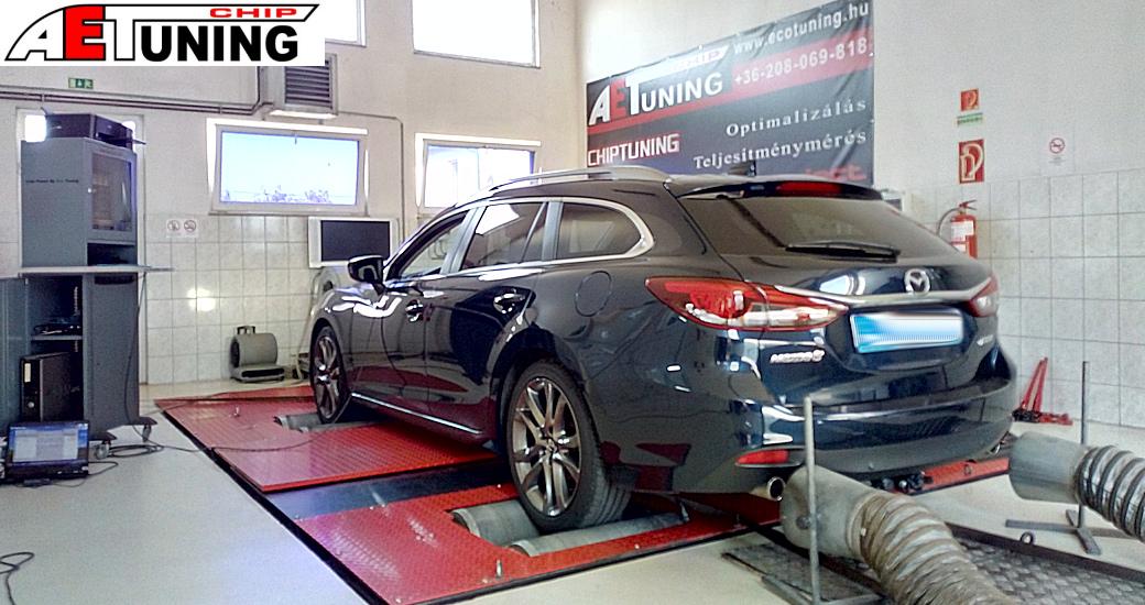 Mazda 6 2.2 Skyactive D Motoroptimalizálás